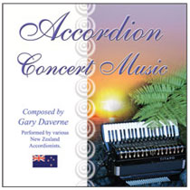 CD Cover Accordion Concert Music